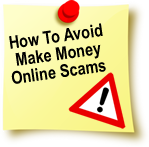 avoid make money online scams