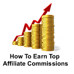 top affiliate commissions