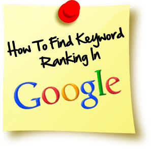 find keyword ranking