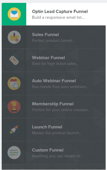 click funnels pages
