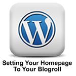 setting blogroll